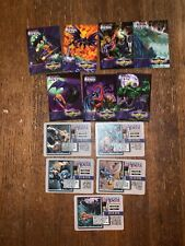 RaRe OVERPOWER Cards AQUAMAN & BATMAN Into the Depths Set of 12 COMPLETE ❤️sj7m