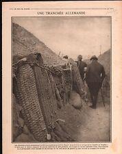 WWI Tranchée Le Trapèze Mesnil/Police Thessaloniki Greece Boat 1916 ILLUSTRATION