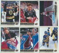 2018-19 Upper Deck Series 1 and 2 UD Canvas YOU CHOOSE CARDS