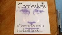 Charles Ives, Herbert Henck – Concord-Sonate lp ( with ois )