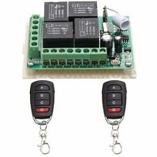 12V 4CH Channel 315MHZ Relay RF Wireless Remote Control Transmitter + Receiver