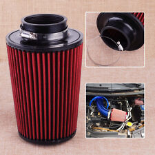 Car New Trunk High Flow Racing Cold Air Inlet Intake Cleaner Filter Tapered Cone