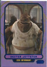 Star Wars Galactic Files Blue Parallel #50 Dexter Jettster