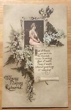 Vintage Postcard - Actress/Variety Star - Many Happy Returns