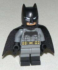 Lego New Batman Dark Bluish Suit Gold Belt Super Hero Minifigure Figure