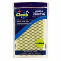 NEW Ritz Clean Jumbo Turn-A-Bout Cleaning Pad - Two Sided Sponge - Scour Pad