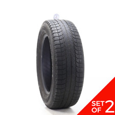 Set Of 2 Used 23560r18 Michelin Latitude X Ice Xi2 107t 6532 Fits 23560r18