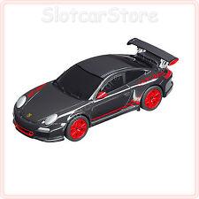 """Carrera Go 61207 PORSCHE gt3 RS """"NERO/ROSSO"""" 1:43 CAR AUTO"""