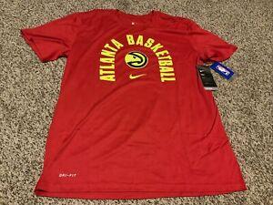 Nike Atlanta Hawks  Shirt Red  Men's Size: 3XL  NWT Ant-Odor Athletic Cut