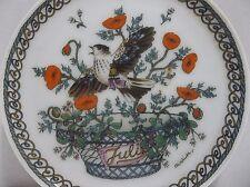 Vintage Hutschenreuther Plate JULI BIRD Ole Winther Signed