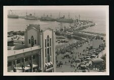 Spain Canary Islands TENERIFE Puerto busy scene c1920/30s? RP PPC