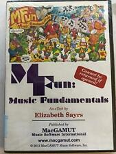 Mfun Música Fundamentals Elizabeth Sayrs Macgamut Dvd-Rom