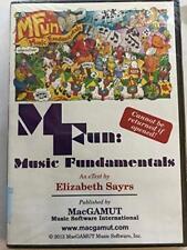 Mfun Musik Grundlagen Elizabeth Sayrs Macgamut Dvd-Rom