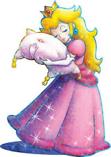 POSTER A4 PLASTIFIE-LAMINATED(1 FREE/1 GRATUIT)*JEUX VIDEO MARIO PRINCESSE PEACH