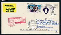 67495) LH / AA  FF Frankfurt - Bayreuth 26.10.98 DASH 8, GA USA The Purple Heart