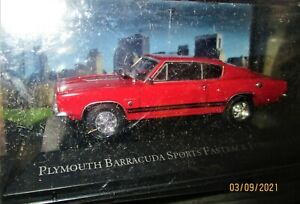 Altaya VOITURES AMÉRICAINES 1/43 N°18 Plymouth Barracuda (1968  FASCICULE Am