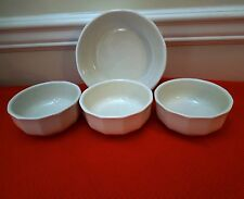 4 BOWLS PFALTZGRAFF HERITAGE 3 FRUIT DESSERT BOWLS & ROUND VEGETABLE (OTRS AVAIL