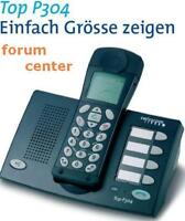 TOP Swisscom TOP P304 Telefon mit Freisprechfunktion Baugl. Tiptel Easy DECT XL2