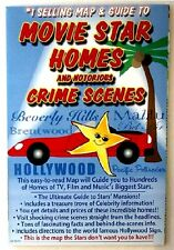 Movie Stars Homes & Notorious Crime Scenes Map & Guide - 2329