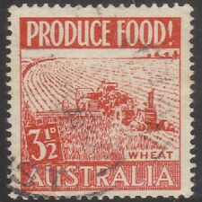 1953 (P134)AuPost 3 1/2DRed Food Production Wheat SG259