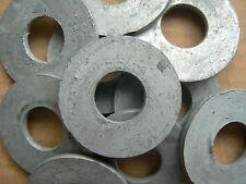 50 x M12 Galvanised Penny Washers Internal diameter 13mm external 36mm