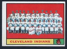 1961 Topps #467 Cleveland Indians team (ex-mt)