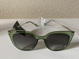Green Lucky Brand Sunglasses