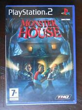 PS2 MONSTER HOUSE - PAL ESPAÑA - PLAYSTATION 2 (4Y)