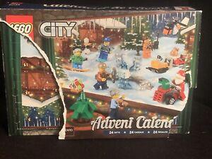 Lego City 60155 ADVENT CALENDAR (NEW damaged box)