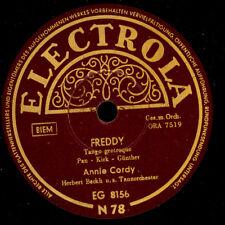 """ANNIE CORDY  Freddy / Du hast ja 'nen Piep """"Cover-Version zu Eartha Kitt""""  S7056"""