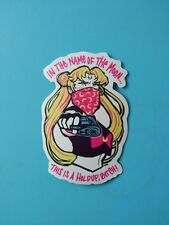 Skateboard Guitar Vinyl Sticker Non-mainstream Sailor Moon Holdup