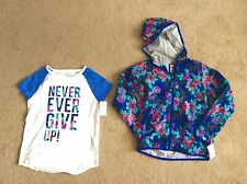 NWT Oshkosh Size 12 Girl's Shirt And Jacket Set