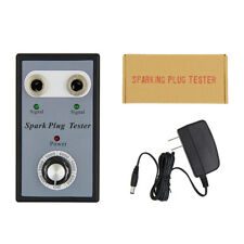 Car Spark Plug Tester Analyze Adjustable Dual Hole Ignition Detector Brand New
