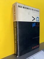 Basic Mathematics for Electronics Second Edition Cooke Book Vintage Math VG cond