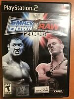 WWE SmackDown vs. Raw 2006 - Sony PlayStation 2 PS2 - (UNTESTED)