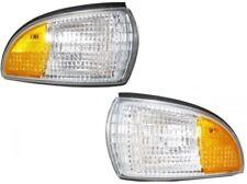 91-96 GM Caprice Impala Left & Right Sidem. Corner Light Turn Signal 2 bulb Pair