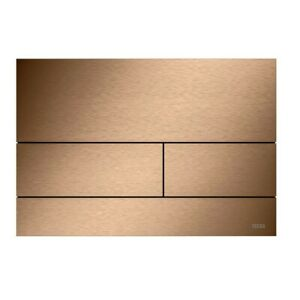 TECE Flush plate TECEsquare II Brushed Red Gold 9240840 metal