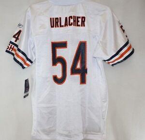 NEW Kids Youth REEBOK Chicago BEARS Brian Urlacher #54 White NFL Football Jersey