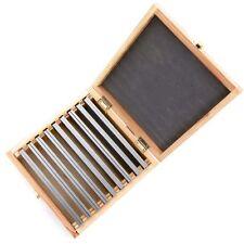 Präzision Parallelunterlagen 160 mm Fräßunterlagen 9 Paar | inkl. Holzbox