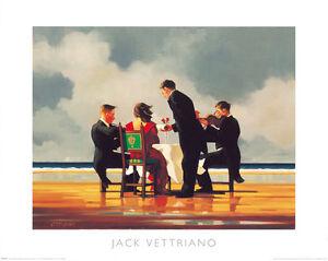 Jack Vettriano - Elegy for the Dead Admiral - premium open edition print (40x50)