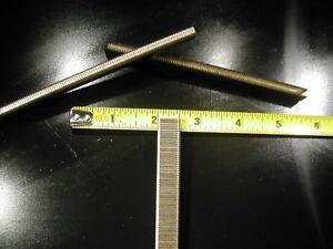 "18 gauge 1/4"" Narrow Crown Staples 5000/bx Galvanized Chisel Point 1/2"" long"