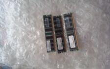 nanya/ infineon 256MB PC3200U 400Mhz CL3 DESKTOP Mem HP 32667-041 RAM  lot of 3