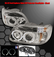 95-01 FORD EXPLORER LED PROJECTOR HEADLIGHTS CHROME 97