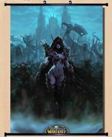 World of Warcraft WOW Sylvanas Windrunner Home Decor Poster Wall Scroll 40*60cm