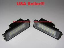 LED LICENSE PLATE LIGHTS 2009 2010 2011 2012 2013 VOLKSWAGEN GOLF / GTI MK6