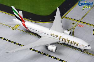 GEMINI JETS EMIRATES BOEING 777-200LR EXPO 2020 1:400 GJUAE1907 IN STOCK