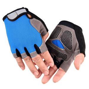 Unisex Anti-Slip Outdoor MTB Road Bike Bicycle Cycling Half Finger Gloves Nice