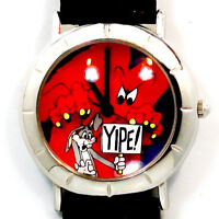 Gossamer Scaring Bugs Bunny 3-D Look Dial Warner Bros New Collectible Watch $159