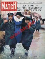 Paris Match n°142 du 08/12/1951 Inondations Pô Rhône malgré-nous Bridge Obey