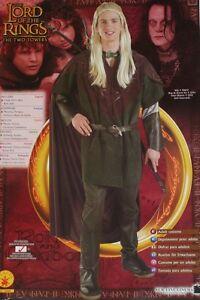 LORD OF THE RINGS Epic Fantasy Movie Novel LOTR Legolas MENS COSTUME LARP New